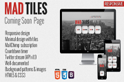 'Coming soon' Webpages
